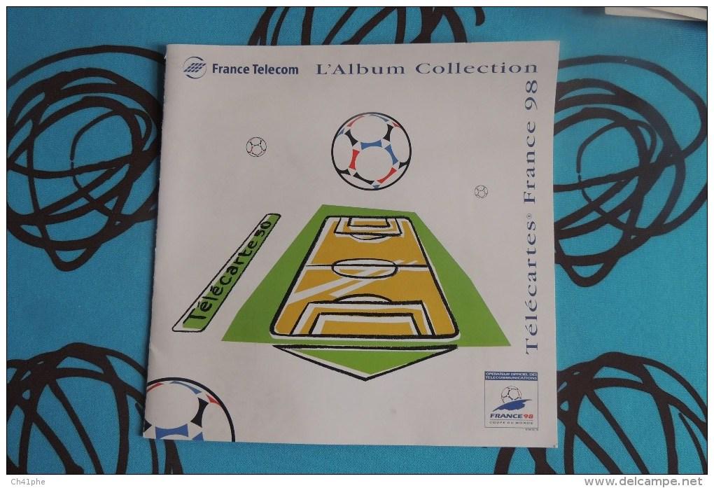 L ALBUM COLLECTION FRANCE TELECOM TELECARTES FRANCE 1998 - Télécartes
