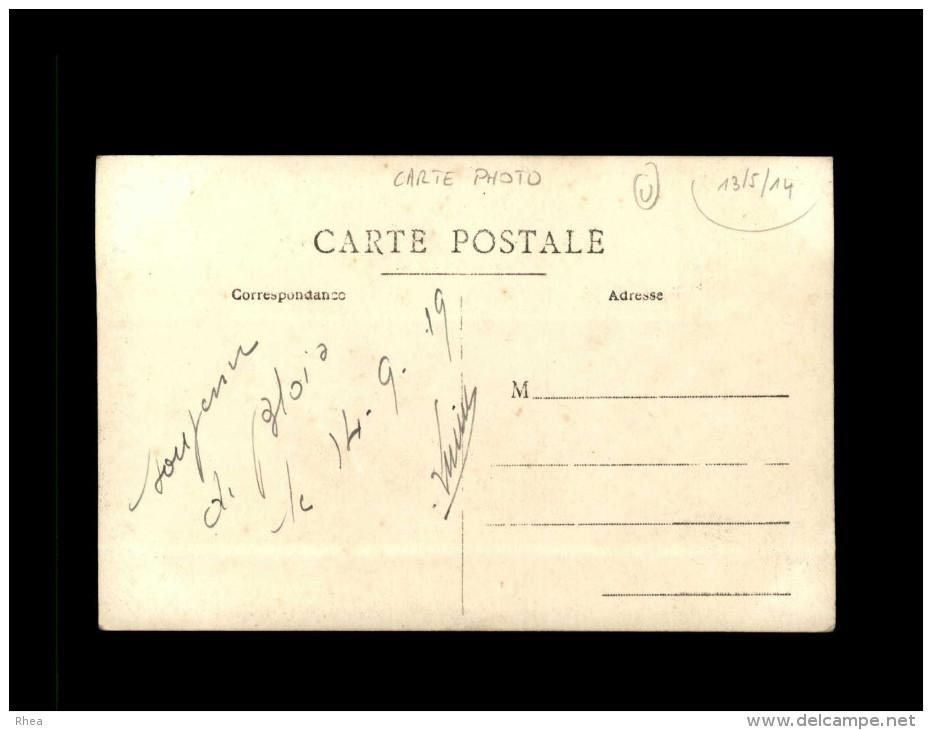 41 - BLOIS - Très Belle Carte Photo - Arrivée Des Troupes - Guerre 14-18 - Carte écrite Le 14/09/19 - Militaria - Soldat - Blois