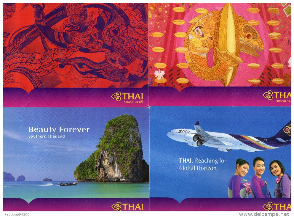 CORRESPONDANCE DE BORD Thai Airways - Stationery