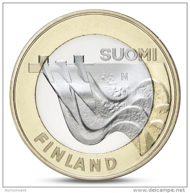 FINLAND FINLANDE FINNLAND 5 EURO PROVINCIAL BUILDINGS KARELIA 2013 UNC - Finnland