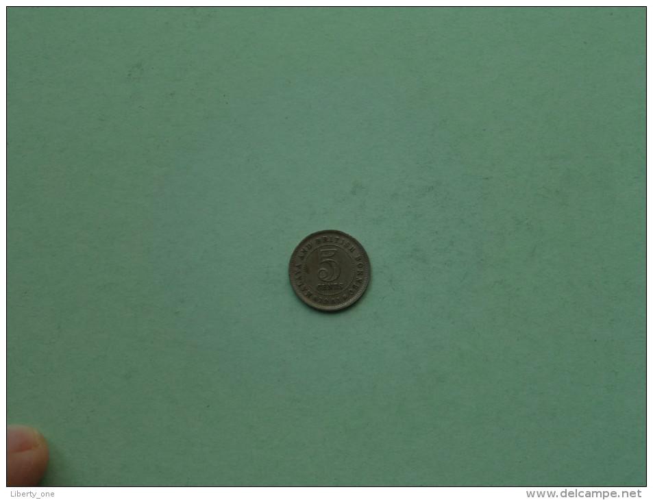 MALAYA & BORNEO 1961 - 5 Cents / KM 1 ( For Grade, Please See Photo ) !! - Kolonies