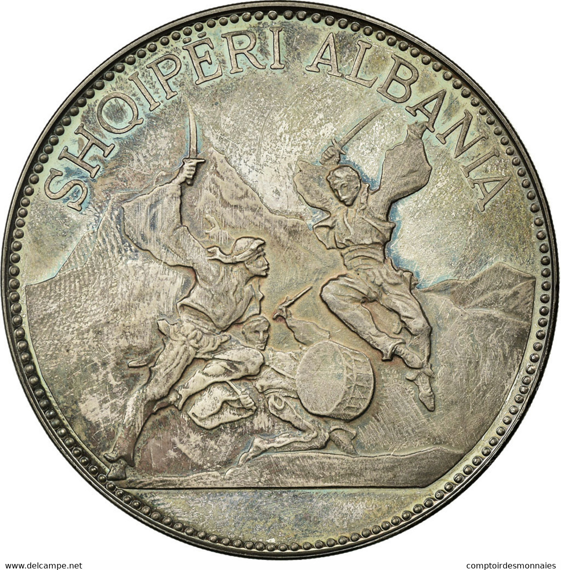 Monnaie, Albania, 25 Lekë, 1970, SPL, Argent, KM:52.3 - Albanie
