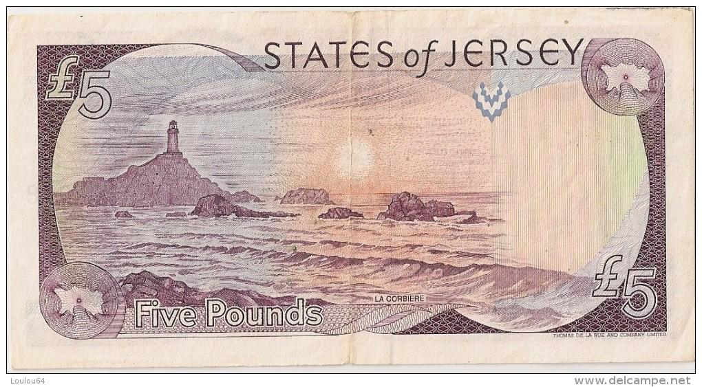 5 POUNDS - JERSEY - Non Daté - TTB - N° FC509978 - - Jersey