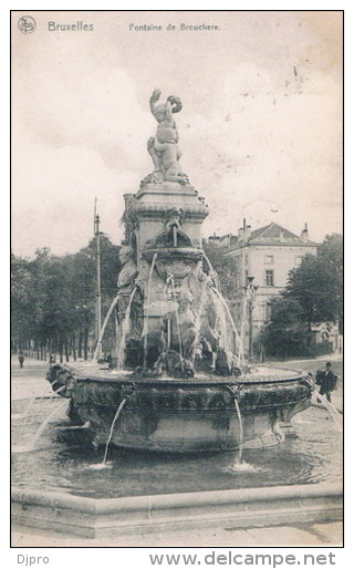 Bruxelles  Fontaine De Brouckere - Zonder Classificatie