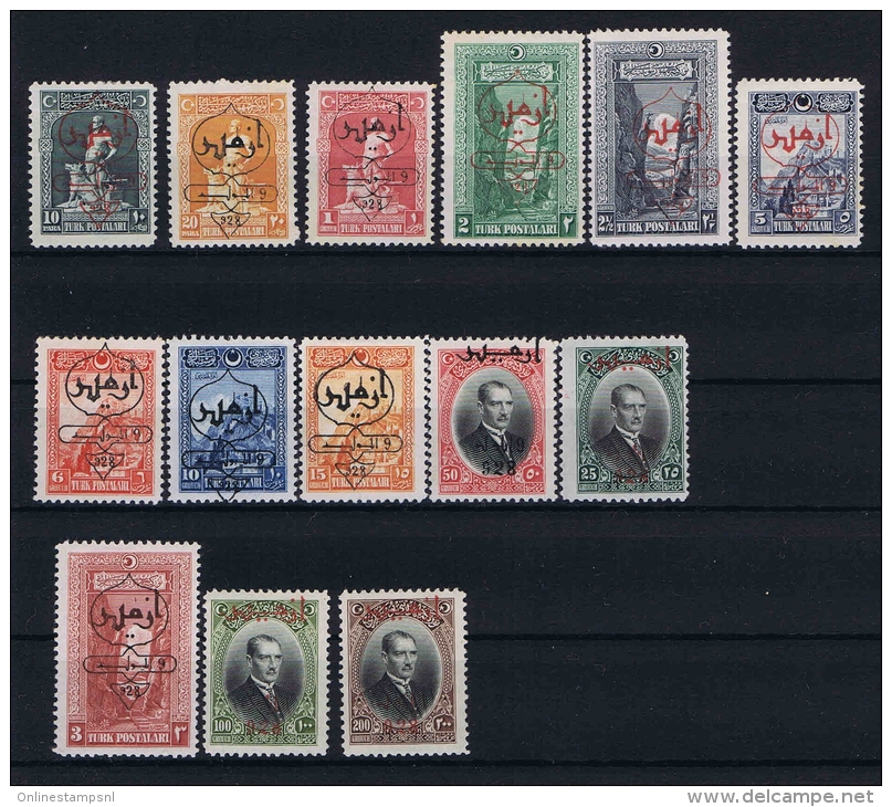 Turquie /Turkey:1928 Isf.1188-1201,Mi Nr 868 -881 , 1193+1200+1201 (mi 880+881+873) Are MNH/** Rest MH/* - Nuevos