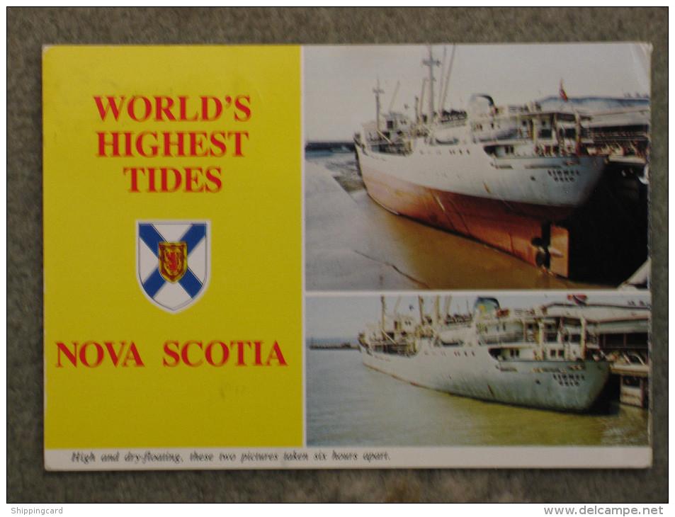 LIONEL FREIGHTER AT NOVA SCOTIA - Cargos