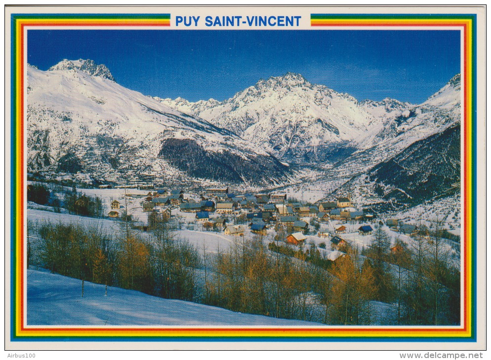 04 - PUY SAINT VINCENT - Village Des Près - 2 Scans - - Autres Communes