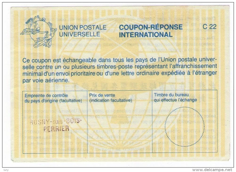 Coupon-Réponse International -Rosny Sus Bois -VEDERE FOTO- - Non Classificati