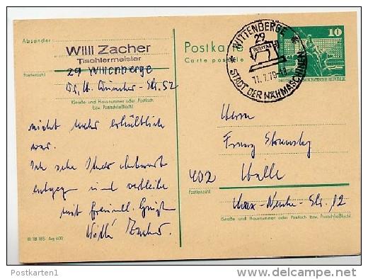 Textile Veritas Nahmaschine Wittenberge 1979 Auf Ddr Postkarte P 79