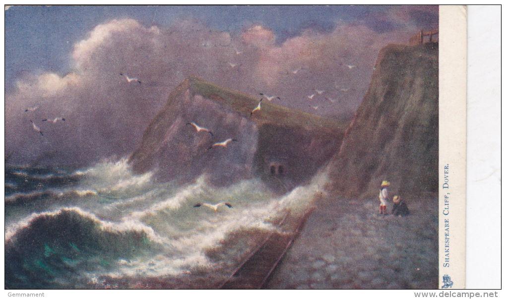 DOVER - SHAKESPEARE CLIFF. TUCK OILETTE 1491 - Dover