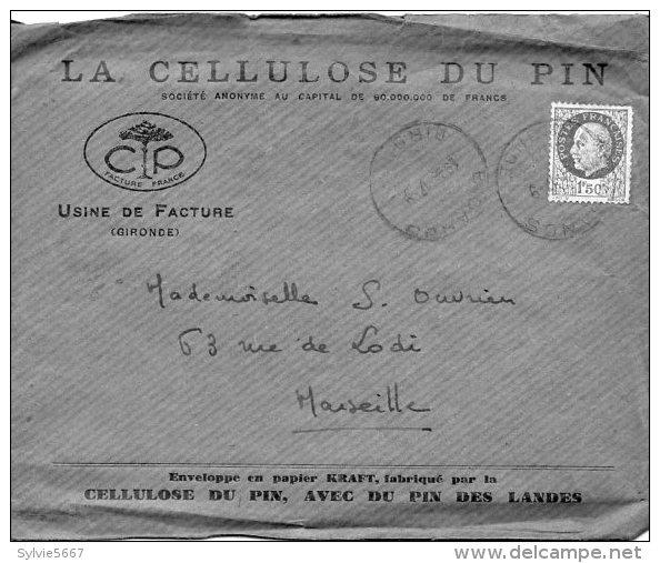 Cellulose Du Pin Usine De Facture - Vieux Papiers