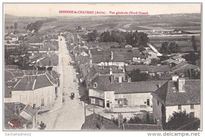 10. BRIENNE-LE-CHATEAU. Vue Générale (Nord Ouest) - Autres Communes