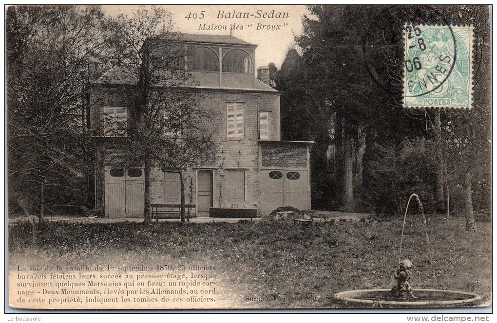 08 SEDAN - Maison Des Broux - Sedan