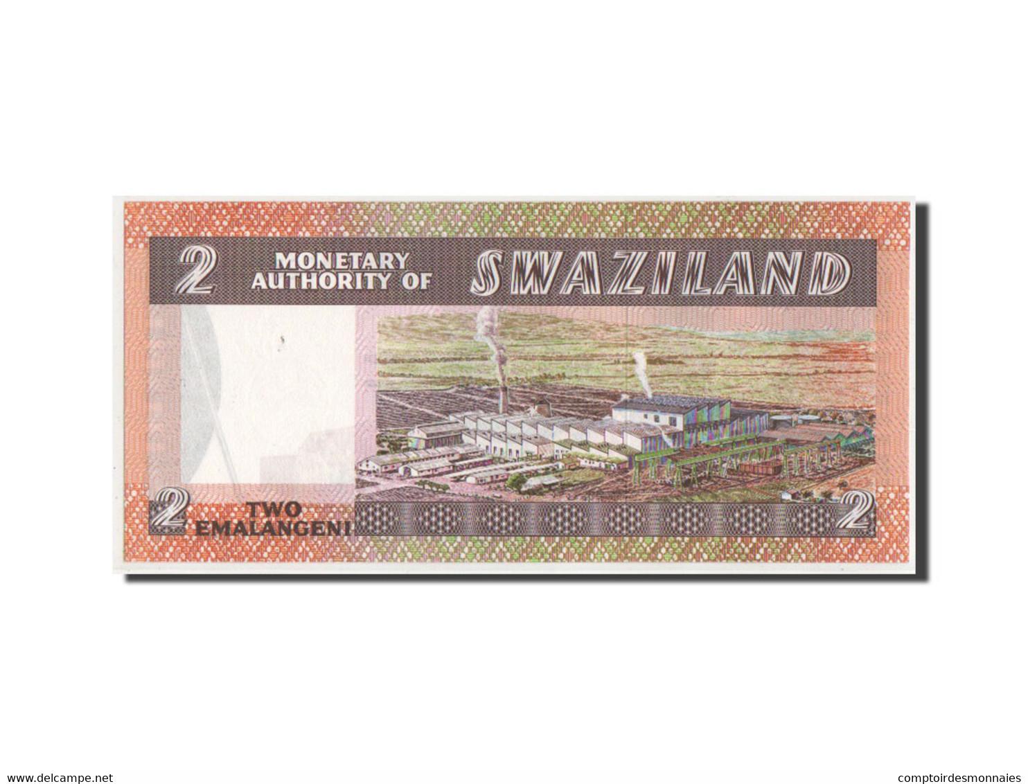 Swaziland, 2 Emalangeni Type 1974-78 ND, Pick 2a - Swaziland
