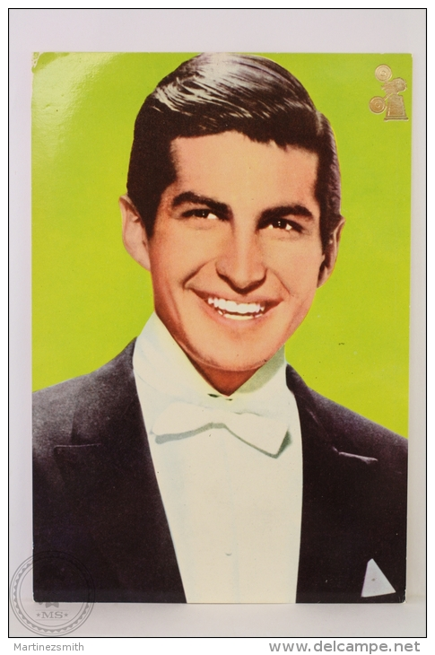 Original & Rare 1960s Postcard - George Hamilton - Printed In Spain - Acteurs