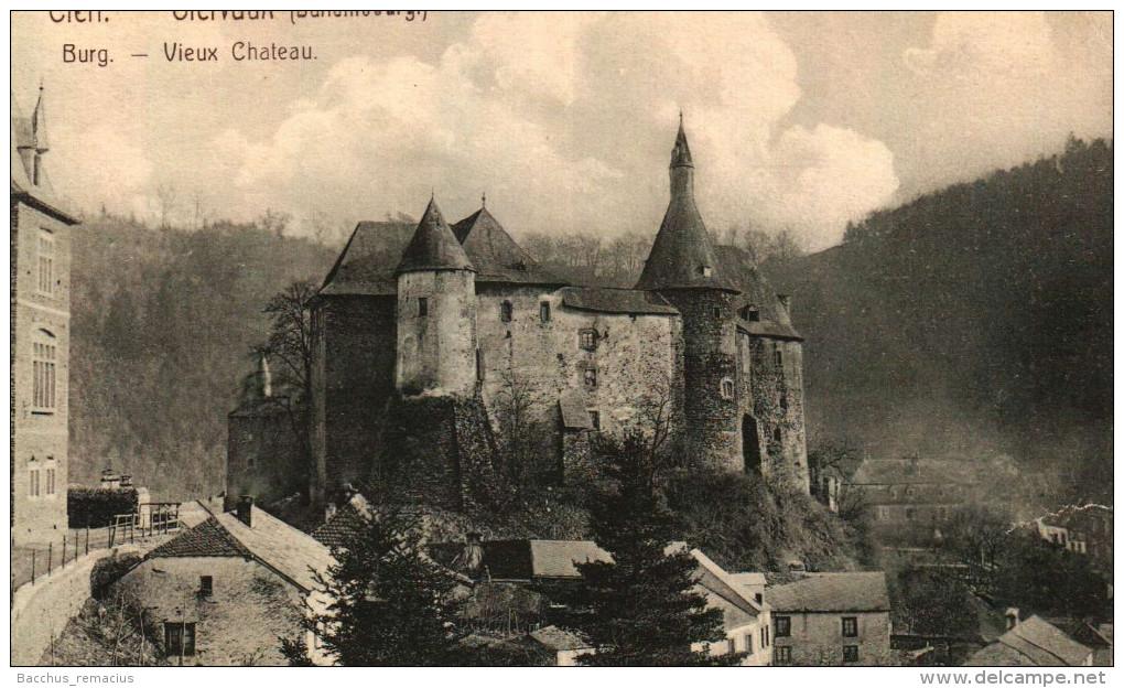 Clerf   Burg  Clervaux   Vieux Chateau     H.J.K.C. 6 - Clervaux
