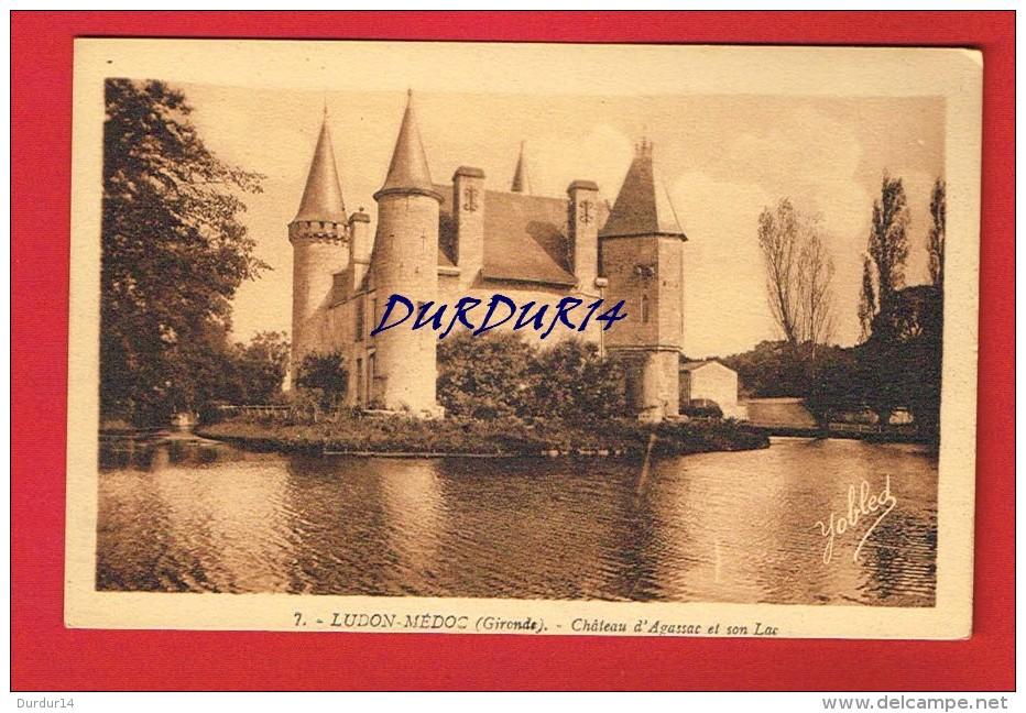 Gironde - LUDON - MÉDOC - Château D'Agassac Et Son Lac - France