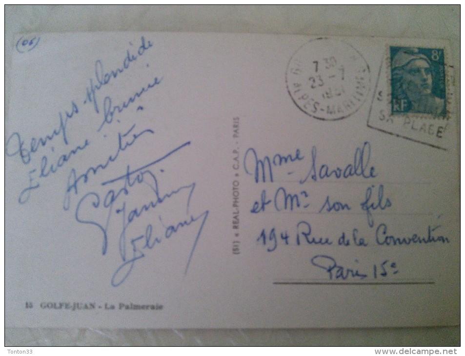 GOLFE JUAN - 06 - LA PALMERAIE - 130614 - - Autres Communes