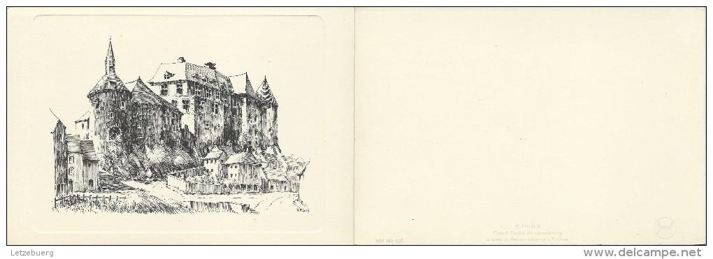 Clervaux (Klierf) - Le Château - D´après J.P. Gleis (Faltblatt) - Clervaux