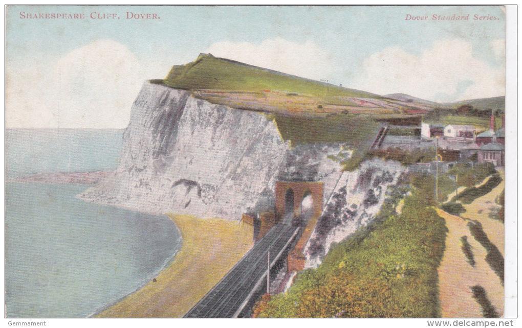 DOVER - SHAKESPEAR CLIFF.  RAILWAY LINE - Dover