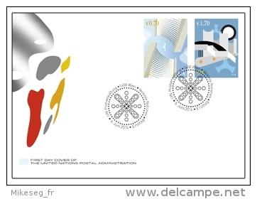 ONU Vienne 2014 - FDC Definitive - FDC