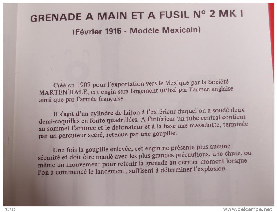 TRÉS BELLE GRENADE ANGLAISE A MAIN ET A FUSIL N° 2 MK I . - 1914-18