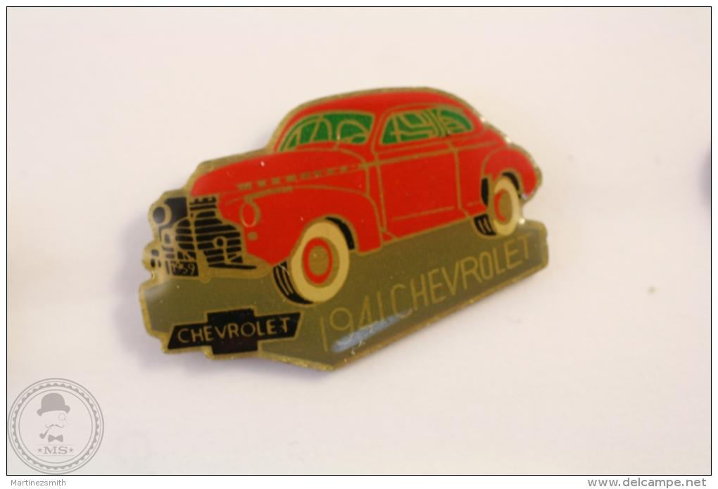 1941 Chevrolet Red Colour - Enamel Pin Badge #PLS - Pin
