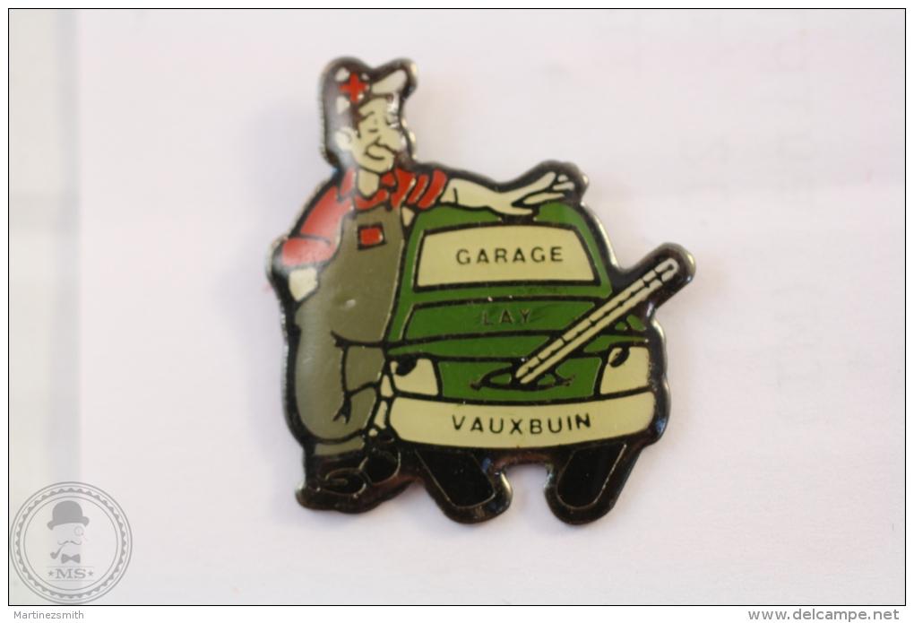 Garage Lay Vauxbuin - Advertising Pin Badge #PLS - Pin