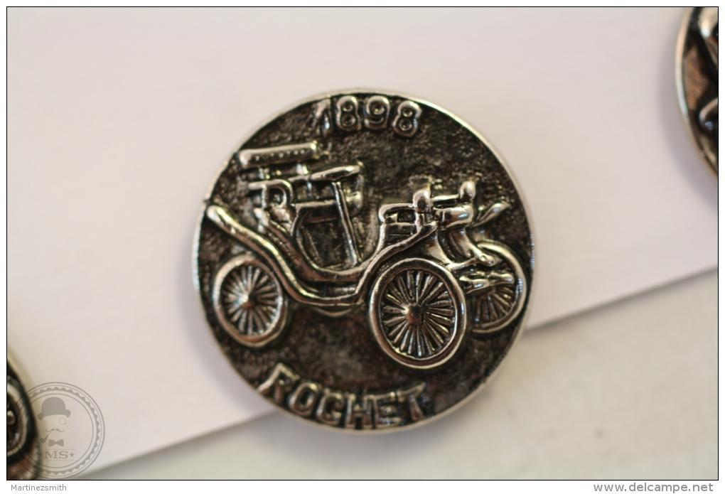 Old 1898 Rochet Classic Chromed Car - Pin Badge #PLS - Pin