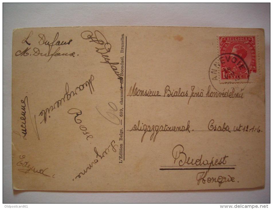 Alte AK  GODINNE-SUR-MEUSE - Le College - 1935 Gelaufen - Belgium