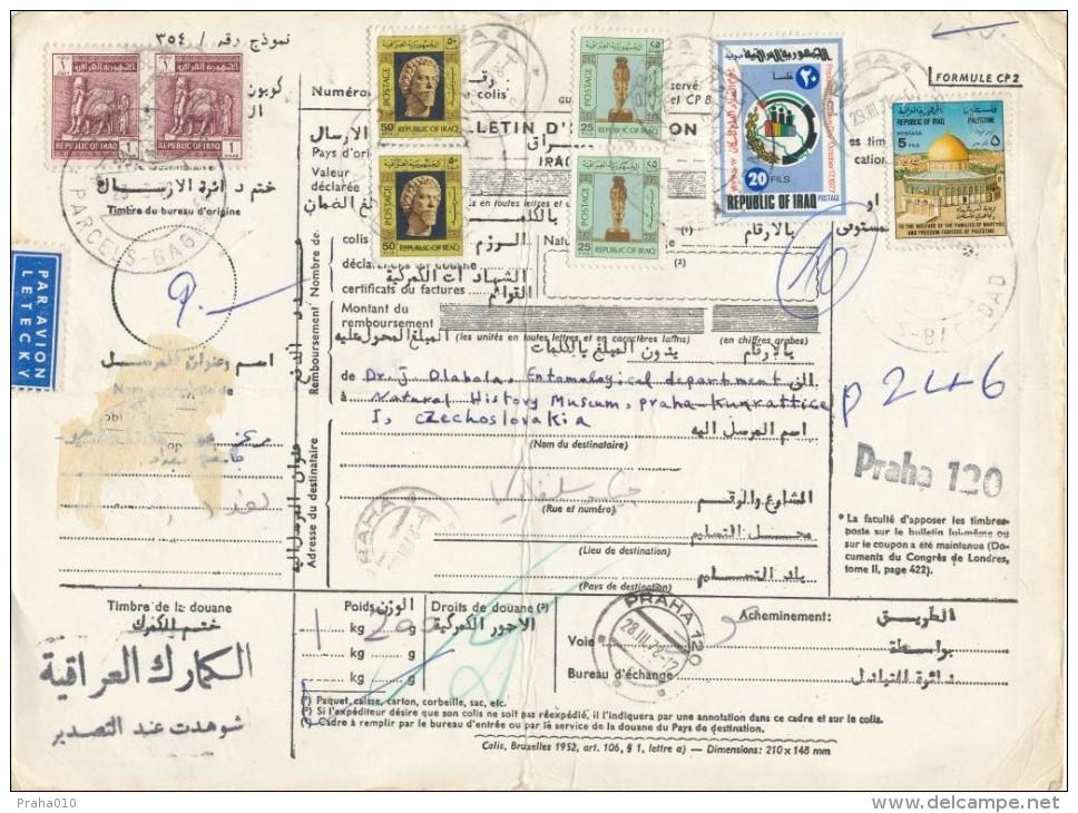 C06007 - Iraq (1978) Parcels Baghdad / - To Czechoslovakia: Praha 120 / Praha 4 - Iraq