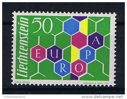 Liechtenstein: 1960  Mi Nr 398 MNH/** - Liechtenstein