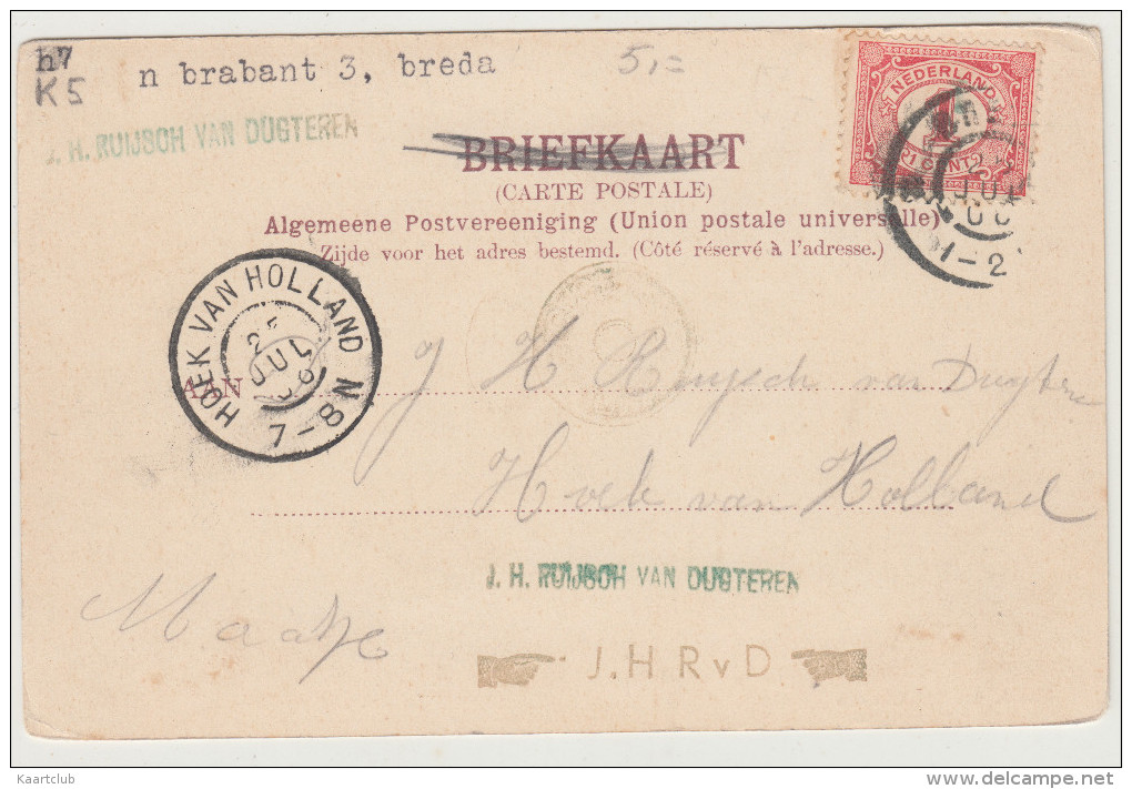 Breda - Academie Singel - 1906 - Noord-Brabant / Nederland - Breda