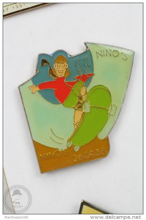 Nino Skateboards -Advertising Pin Badge #PLS - Marcas Registradas