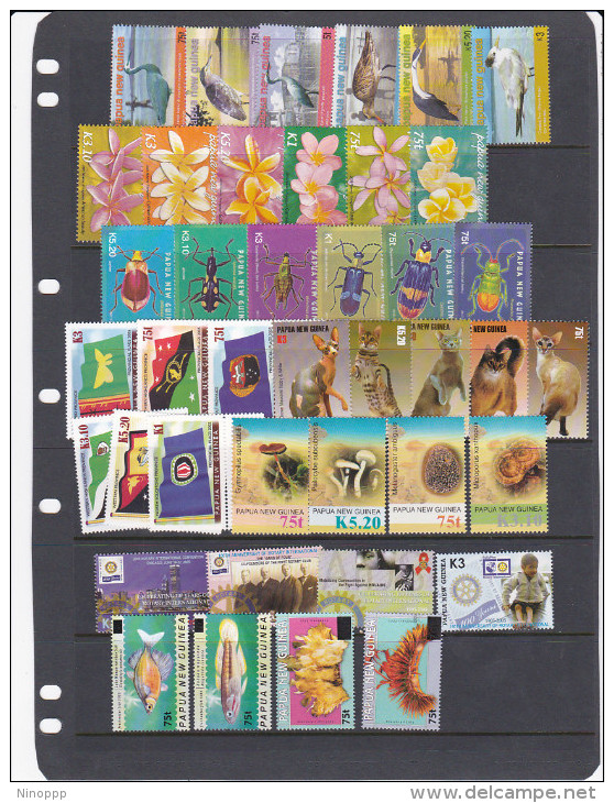 Papua New Guinea  2005 Complete Year  MNH - Papua New Guinea