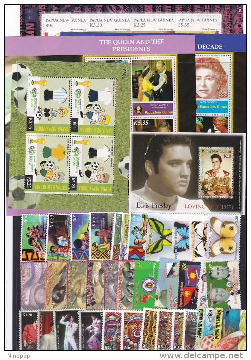Papua New Guinea  2006 Complete Year  MNH - Papua New Guinea