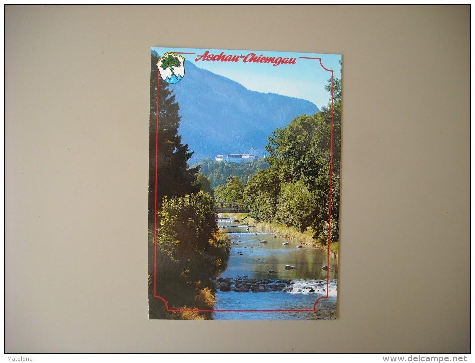 ALLEMAGNE BAVIERE ASCHAU / OBERBAYERN SCHLOSS HOHENASCHAU IM CHIEMGAU... - Chiemgauer Alpen