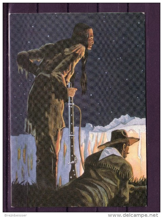 Karl May Postkarte: Orania - Verlag I/3 - Winnetou III - Indianer