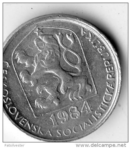 Czechoslovaka Socialist Republic 10 Haleru 1984 - Tschechoslowakei
