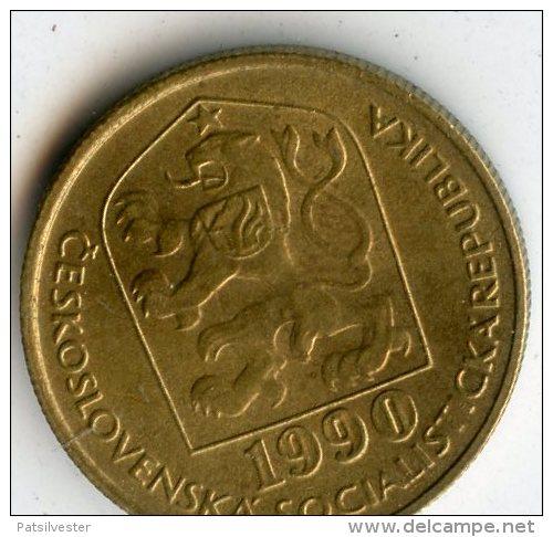 Czechoslovaka Socialist Republic 20 Haleru 1990 - Tschechoslowakei