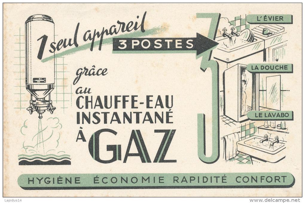 BU 1074 / BUVARD   CHAUFFE EAU INSTANTANE A GAZ - Electricité & Gaz