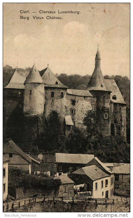 Clerf   Burg  Clervaux   Vieux Chateau     Jean Colling, Photographe - Clervaux