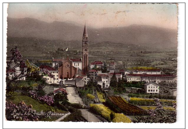 CARTOLINA BUIA  (UDINE) PANORAMA - Udine