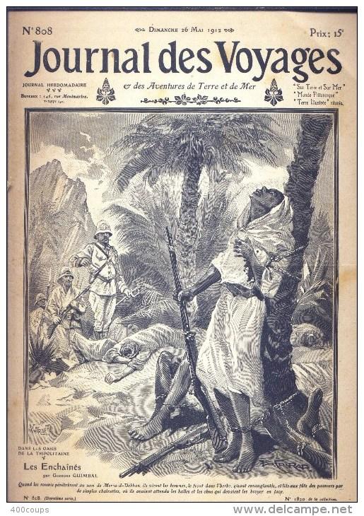 Journal Des Voyages - N° 808 Du 26 Mai 1912 - Dans Les Oasis De La Tripolitaine - - Newspapers