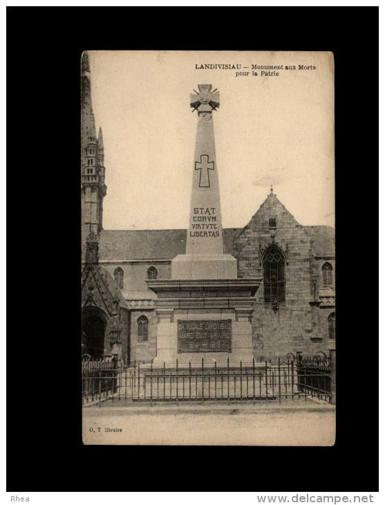 29 - LANDIVISIAU - Monument Aux Morts - Landivisiau