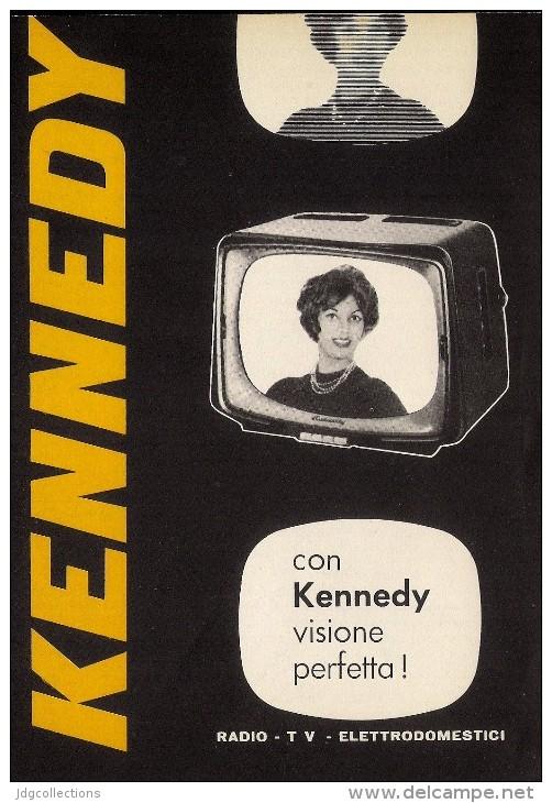 # KENNEDY TV TELEVISION ITALY 1950s Advert Pubblicità Publicitè Reklame Publicidad Radio TV Televisione - Televisione