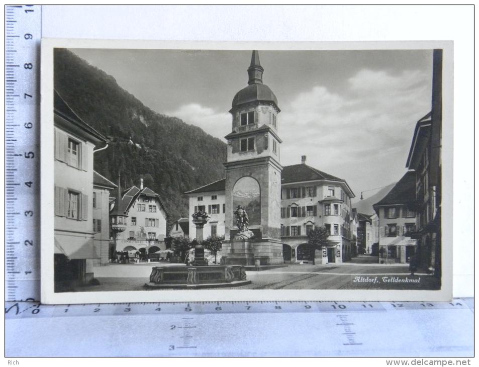 CP SUISSE - Altdorf, Telldenkmal - UR Uri