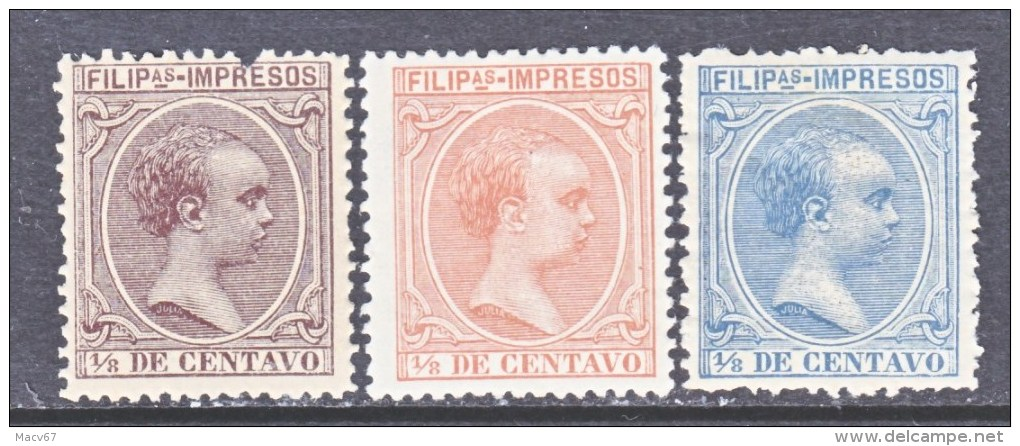 SPANISH COLONIES PHILIPPINES   P 5+   * - Philipines