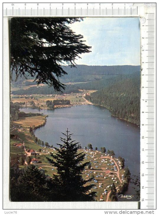 XONRUPT LONGEMER  -  Vue Depuis La Roche Des Vieux Chevaux  - Alt  984 M - Camping - Xonrupt Longemer