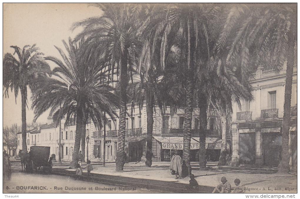 ¤¤  5 - BOUFARIK  - Rue Duquesne Et Boulevard National   ¤¤ - Algérie